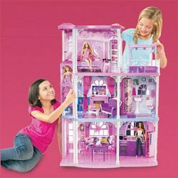 comparaison de prix pour barbie md maison de r ve dream townhouse shoptoit. Black Bedroom Furniture Sets. Home Design Ideas