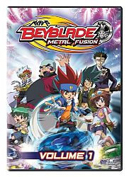 """Beyblade: Metal Fusion, Volume 1 - DVD - Édition anglaise"""