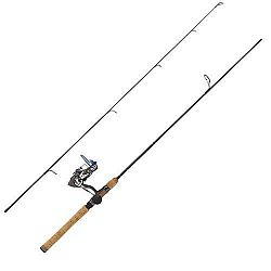 Eagle Claw Diamond Graphite Rod 6ft6in 2 Pc M Cmb w-4BB Reel