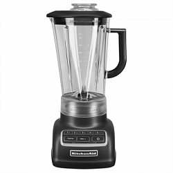 KitchenAid Blender KSB1575BM Diamond 60-oz Matte Black 5-Speed 670-Watt Pulse Control