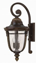 2905RB-GU24 - Hinkley Lighting - Key West - 27 Outdoor Wall Lantern 26W GU24 Regency Bronze Finish -