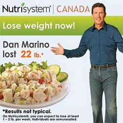 Typical weight loss results with nutrisystem promo