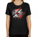 Philadelphia Wings Ladies Fusion Classic Fit T-Shirt - Black