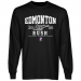 Edmonton Rush Established Team Color Long Sleeve T-Shirt - Black
