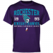 Rochester Knighthawks Established Team Color T-Shirt - Purple
