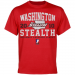 Washington Stealth Established Team Color T-Shirt - Red