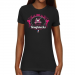 Calgary Roughnecks Ladies Paisleyball Slim Fit T-Shirt - Black