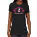 NLL Ladies Paisleyball Slim Fit T-Shirt - Black