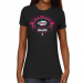Washington Stealth Ladies Paisleyball Slim Fit T-Shirt - Black