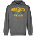 Minnesota Swarm Established Pullover Hoodie - Gunmetal