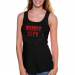 Chicago Bulls Ladies Toned Down Fan Tank Top - Black