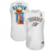Majestic James Harden Oklahoma City Thunder 2012 NBA Finals Bound Replica Jersey - White