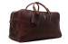 MSL - HANDCRAFTED VINTAGE GENUINE LEATHER TRAVEL BAG LEATHER DUFFLE HOLDALL WEEKEND BAG LUGGAGE BAG