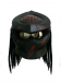 Predator Matt Black Motorcycle Helmet DOT/ECE Approved ATV J27 Custom Made - XXL