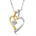 *NO* Evening: Fusion Heart Pendant