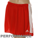 adidas Ladies Red Sisco Performance Soccer Shorts