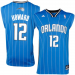 adidas Dwight Howard Orlando Magic Revolution 30 Performance Jersey-Royal Blue Pinstripe