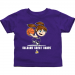Albany Great Danes Toddler Girls Basketball T-Shirt - Purple