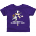 Albany Great Danes Toddler Boys Baseball T-Shirt - Purple