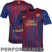 Nike Barcelona Home Soccer Jersey 11/12 - Red-Royal Blue