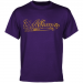Albany Great Danes Swept Away T-Shirt - Purple