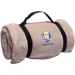 2012 Ryder Cup 64'' x 48'' Tan Embroidered Micro Plush Blanket